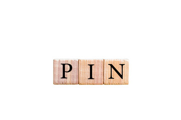 Word PIN -Personal identification number