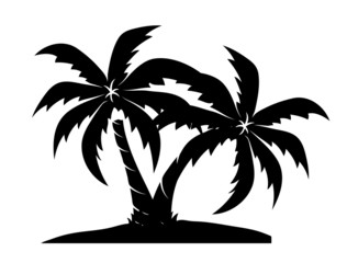 Palm Trees Shapes