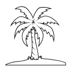 Palm Tree Shape