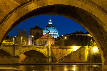 Roma San Pietro Castel Sant Angelo