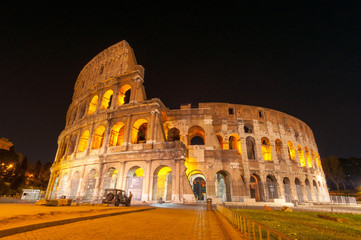 Roma Colosseo Anfiteatro Flavio 80 d.c.