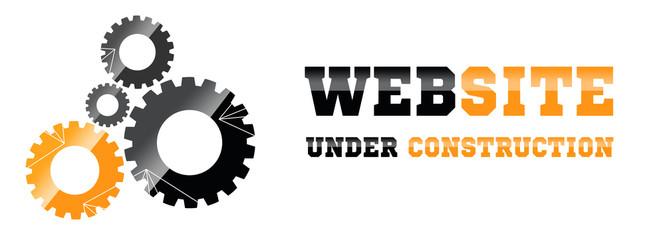 Strona internetowa w budowie - fototapety na wymiar