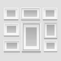White Frames Set