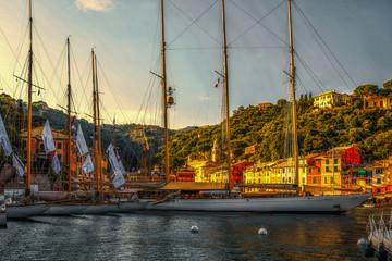 Яхты в Портофино. Италия