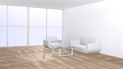 Furniture in living room