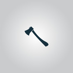 axe icon - vector illustration