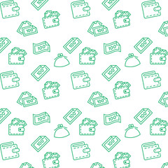 Vector finance pattern