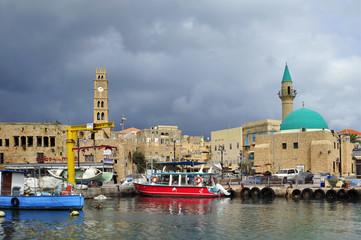 Old City of Acre (Sea Port, Akko, Israel)