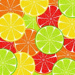 citrus slice background