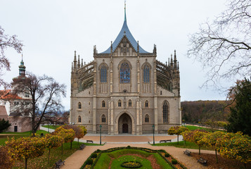 St. Barbara's Church, Kutna Hora, Bohemia