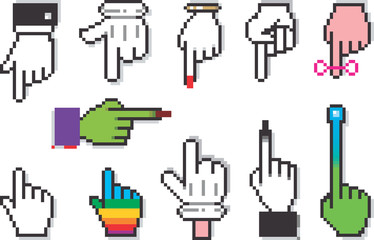 Cursor Hands For All Tastes