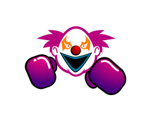 boxing clown