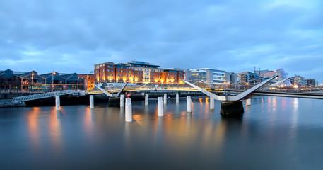 Wall Mural - Bridges of Dublin Ireland