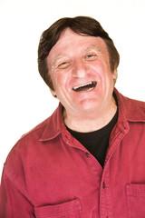 Laughing Caucasian Man