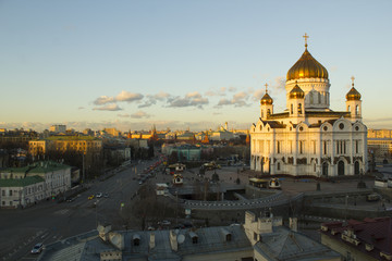 Wall Murals Kiev landscape Moscow city, Moscow, Russia