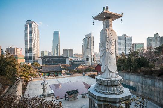 Bongeunsa temple, Seoul, Korea