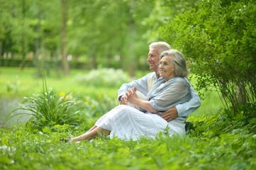 Nice senior couple