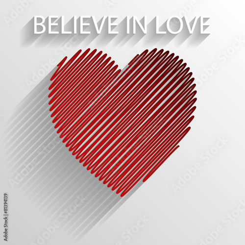 i believe in love