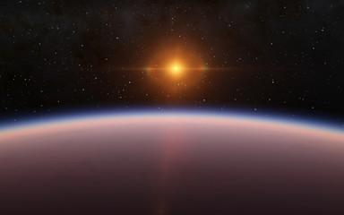 Alien Desert Exo Planet