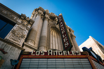 The Los Angeles Theater, in downtown Los Angeles, California.