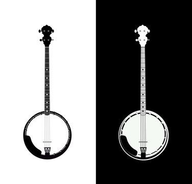 Banjo isolated