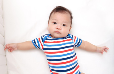 three month asian baby,asian infant
