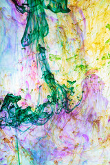 Abstract and very colorful motion blur background