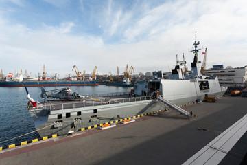 warship stern