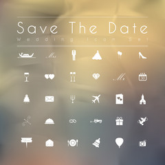 Wedding Planner Icons