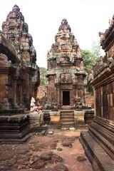 Cortile interno tempio Banteay Srei