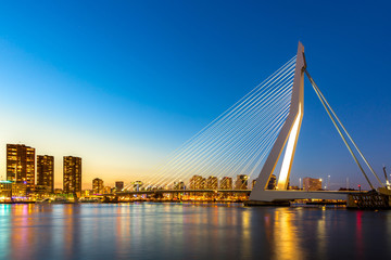 Photo Blinds Rotterdam Erasmus bridge Rotterdam