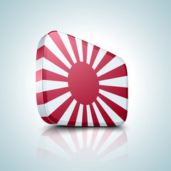Japan Naval button