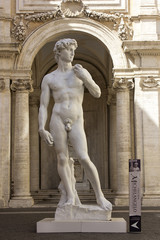 copy of the Statue of David by Michelangelo