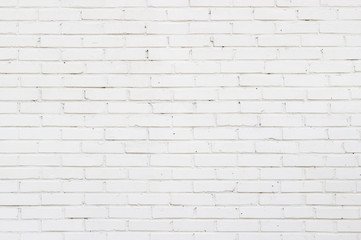 Background texture of a old white brick wall