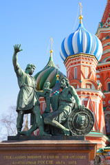 Wall Mural - Monument on the Red square