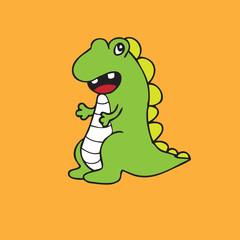 Dinosaur T Rex Character cartoon