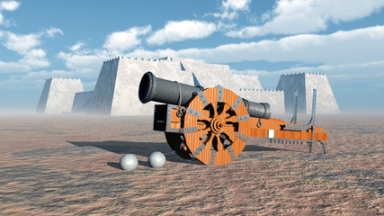 Medieval Cannon