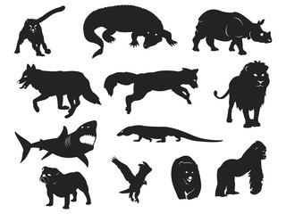 Wild Animal - Silhouette