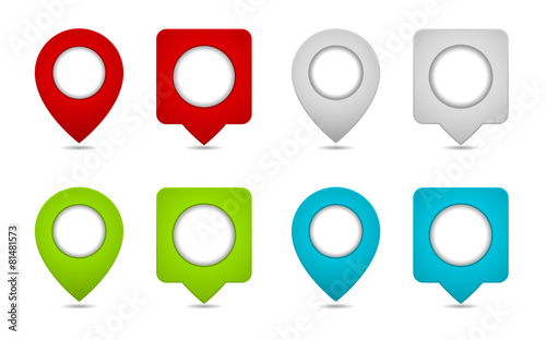 "Free Google Maps Pointer Icon: ""pin Map Marker Pointer Icon"" Stock Image And Royalty-free"