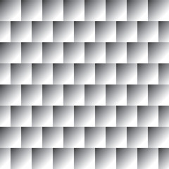 Seamless abstract black and white pattern