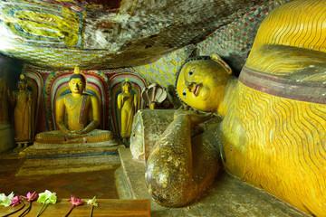 Golden Temple of Dambulla, Sri Lanka