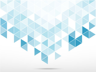 abstract background with light blue  triangle shape