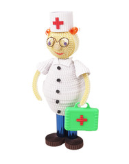 Toy of Quilling. Doctor