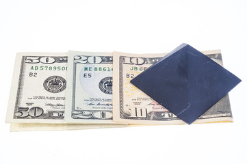 pyramid on dollars