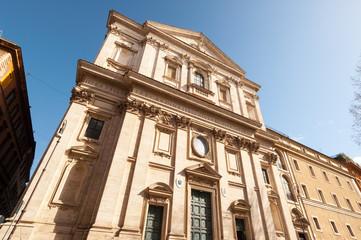 Roma Basilica di San Carlo