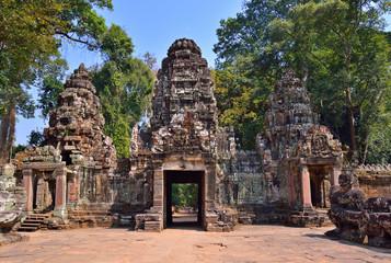 Angkor Temple Complex entrance, Siem Reap, Cambodia.