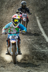 Wall Mural - motocross junior