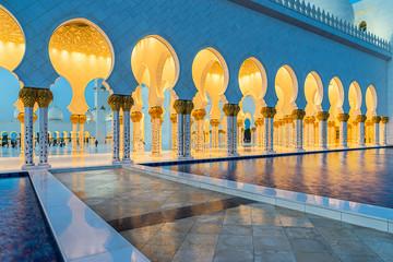 Canvas Prints Abu Dhabi Sheikh Zayed Grand Mosque in Abu Dhabi