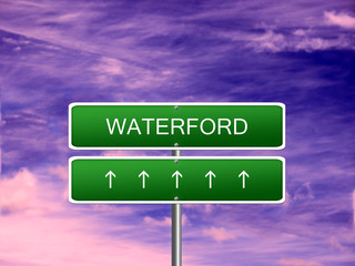 Waterford City Ireland Sign