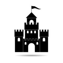 Castle Silhouette - Illustration